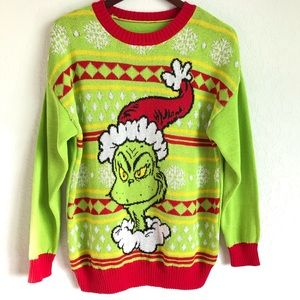 Sweaters - The Grinch Ugly Christmas Sweater Unisex